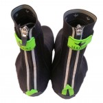 Sealskinz Overshoe zips and trim