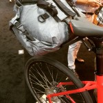 Arkel bikepacking seat bags feature minimalist racks for additional support.